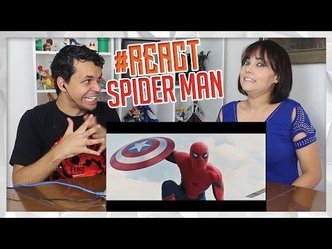 REACT Homem-Aranha: De Volta ao Lar Sony Pictures Brasil