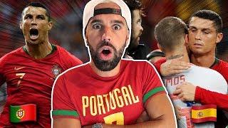 PORTUGAL vs ESPAGNE UN MATCH DE FOU - L' ANALYSE PORTUGAISE