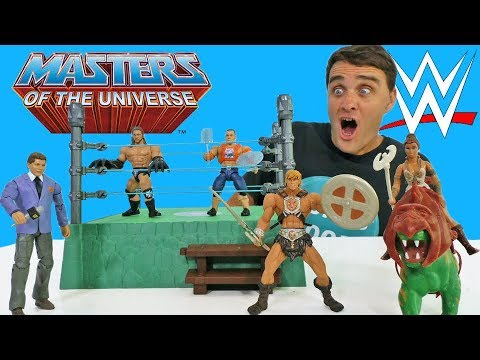 Masters of the WWE Universe Grayskull Mania Ring! || Toy Review || Konas2002