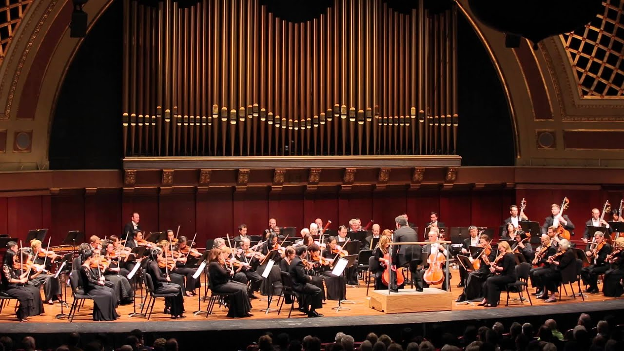 New York Philharmonic in Ann Arbor, Michigan 2015
