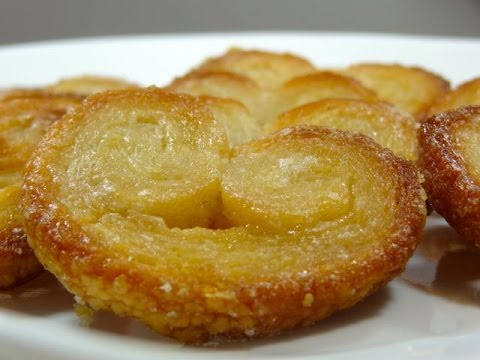 How To Make Puff Pastry Sweet Palmiers Or Elephant Ears (easy Perfect Recipe)