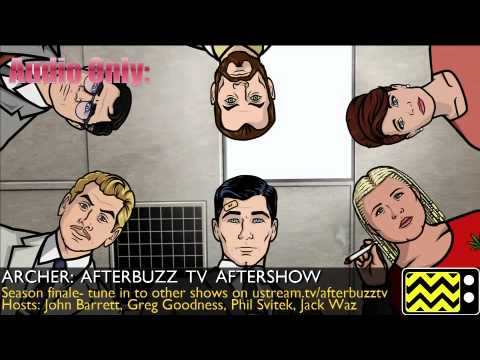 "Archer After Show Season 2 Episode 13 ""Double Trouble ..."