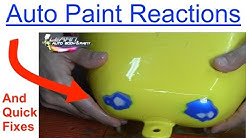 UGLY Paint Reactions - Paint Biting/Wrinkling Causes and Solutions
