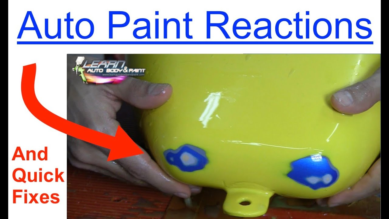 How To Mix Automotive Paint For Spraying