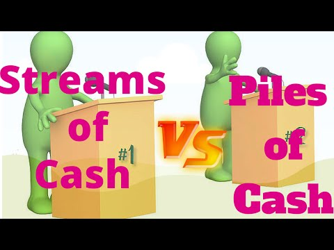 How To Compare Streams of Cash vs. Piles of Cash