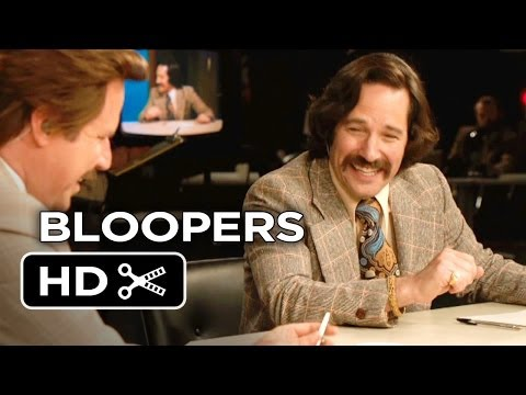 Anchorman 2: The Legend Continues Bloopers Clip (2013) - Will Ferrell Sequel HD