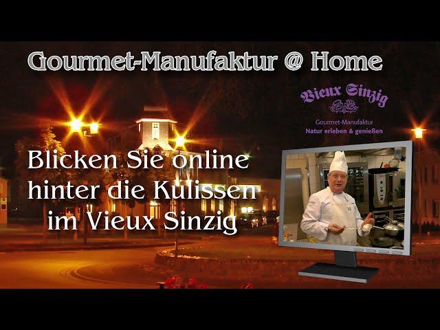 Vieux Sinzig – per Livestream hinter die Kulissen blicken
