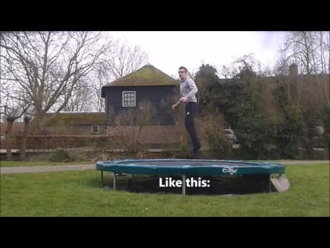 How To BACK FULL - 2 EASY Ways For Back 360 - Trampoline Tutorials