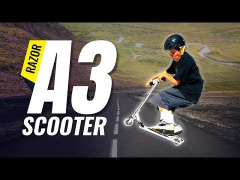 Best Kick Scooters | Razor A3 Kick Scooter Review : Only The Truth (Sports 2018)