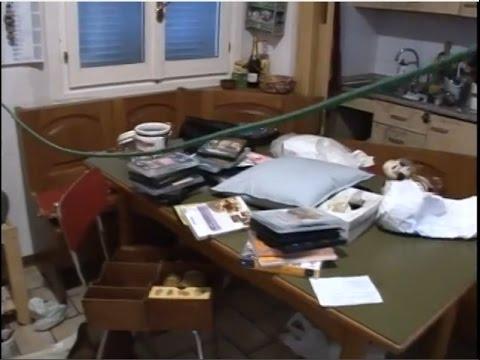 Amanda Knox Case Crime Scene Video December 18, 2007 part 1