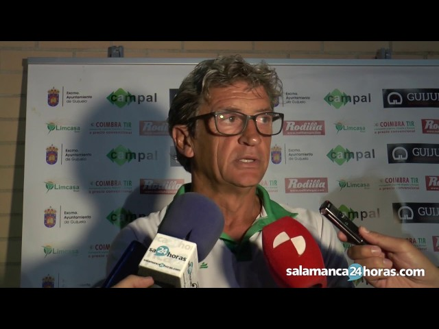 Jordi Fabregat valora el papel del Guijuelo en el Memorial Agustín Villar