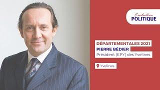Entretien politique avec Pierre Bédier, Président (EPY) des Yvelines