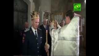 Венчание казачьей пары в г. Лебедянь Липецкой области