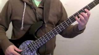 how to play bass for beginners -  i shot the sherriff