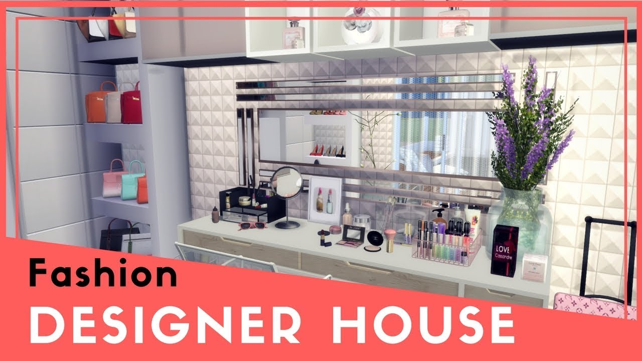 Sims 4 Fashion Designer Modern House Download Cc Creators Links Part3 Youtube