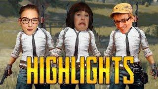 PUBG stream highlights with Chris Ray Gun and k4iley