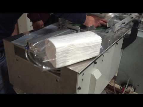 facial tissue packaging machine