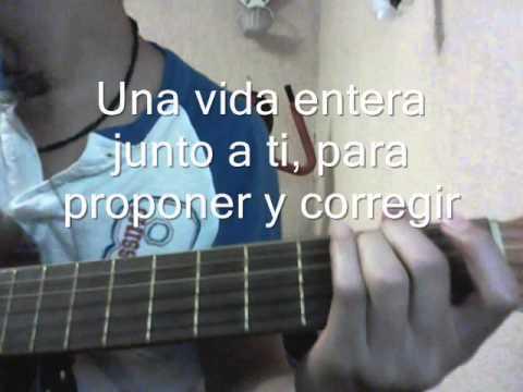 Una vida - Leonel Garcia (Acústico estilo Karaoke)