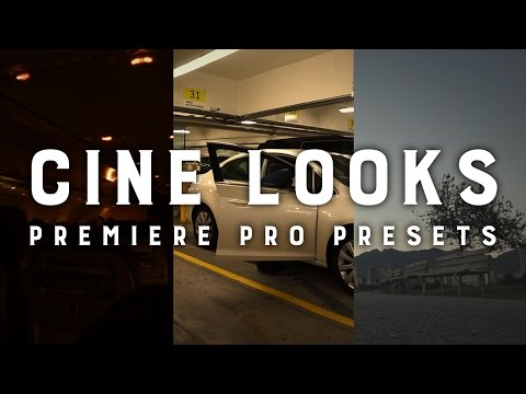Cine Looks in Premiere Pro
