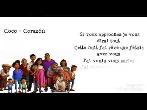 Coco - Corazòn (Lyrics)