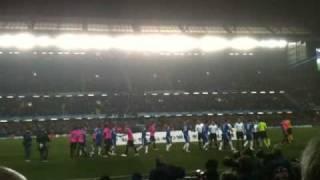 Chelsea vs FC Copenhagen March 16th 2011 Champions League Knockout Stage Entrance
