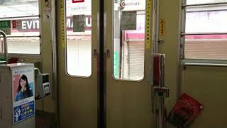 【ドア開閉】広島電鉄700形701号 中扉開閉