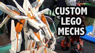 Japanese Anime Mechs in LEGO | Japan Brickfest 2018