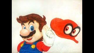 Speed Drawing Super Mario Odyssey