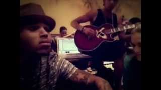 chris brown no bs a thousand miles acoustic