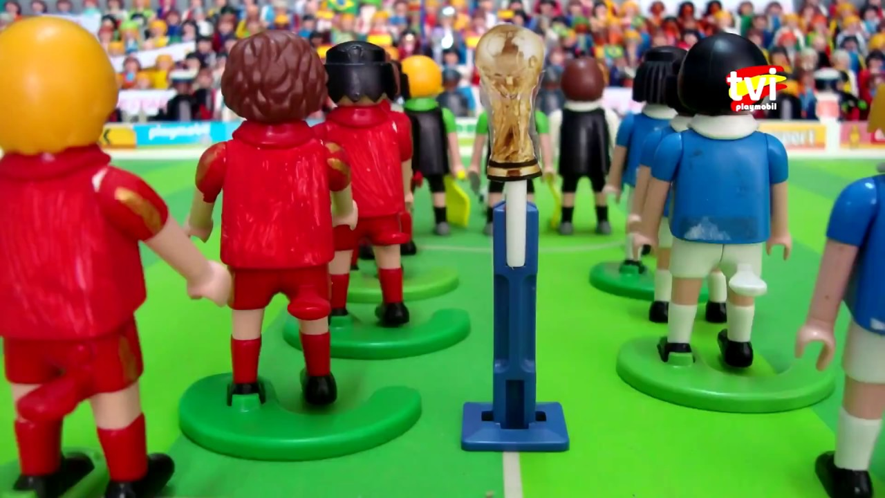 Mundial De Futbol Playmobil Youtube