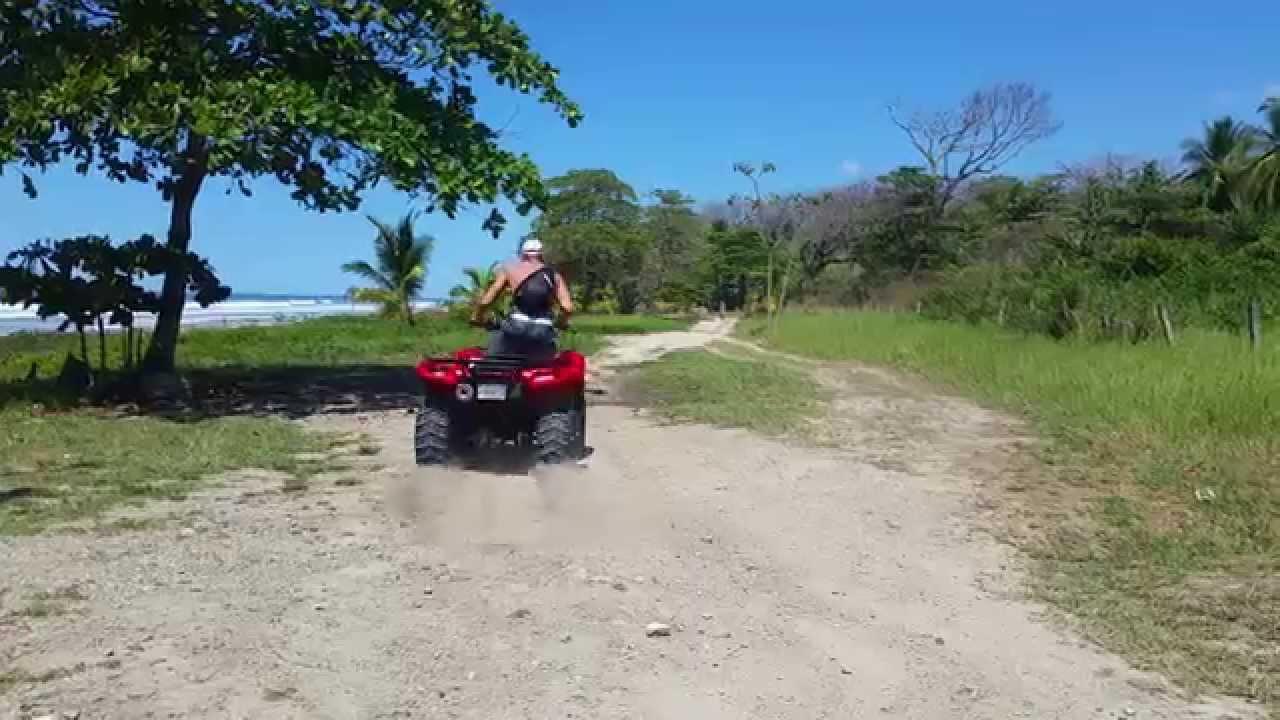 Quad au Costa Rica