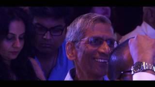 Performance | Rajeev Raja on the stage of CEOs Sing in Mumbai