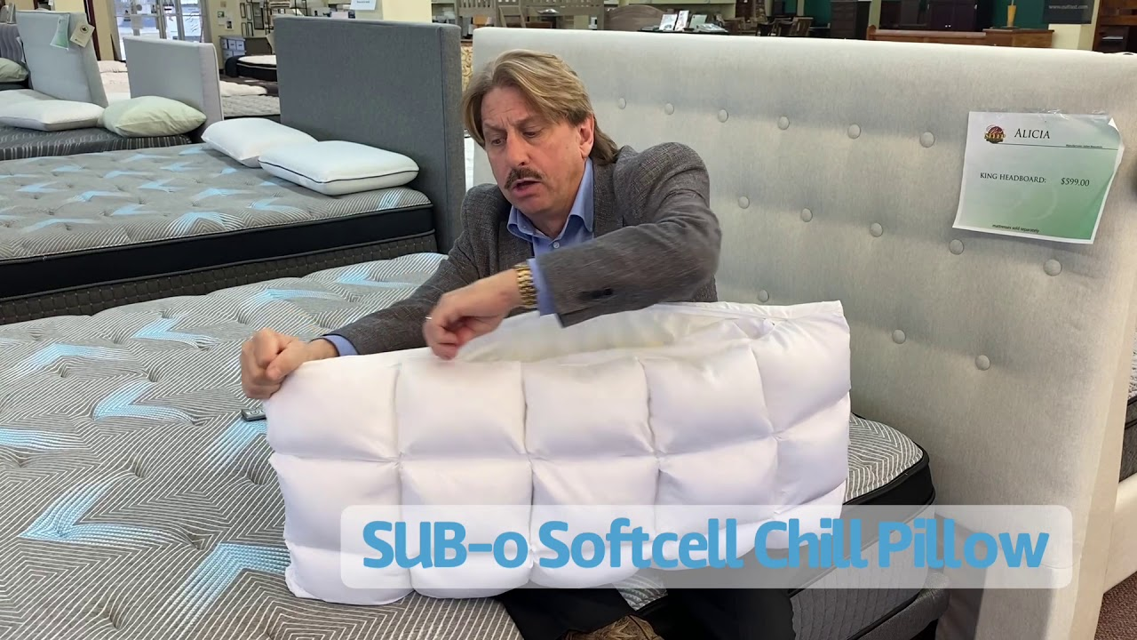 sub 0 softcell chill frio reversible hybrid pillow