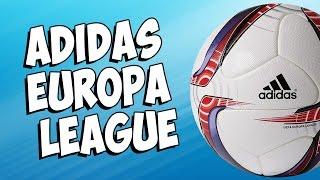 Обзор футбольного мяча Adidas Europa League! Мяч футбольный Adidas Europa League OMB!