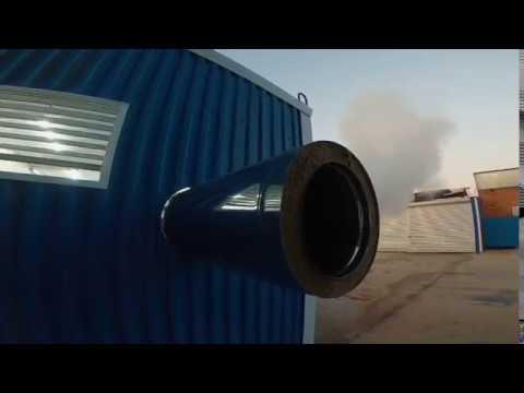 Заводские испытания (Блочно-модульная котельная ECO-PAR-1000D)