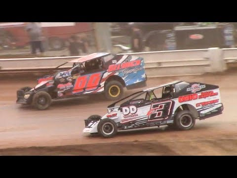 RUSH Sportsman Modified Heat One | Sharon Speedway | 7-2-18