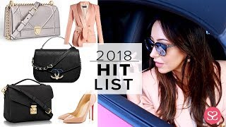 MY 2018 DESIGNER SHOPPING LIST | Sophie Shohet