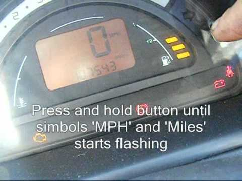 How To Reset Service Interval In Citroen C2 Amp C3 Spann