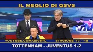 QSVS - I GOL DI TOTTENHAM - JUVENTUS 1-2  - TELELOMBARDIA / TOP CALCIO 24