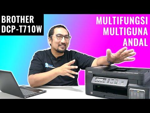 Printer Ink Tank Multifungsi, Multiguna, dan Andal: Review Brother DCP T710W - Indonesia