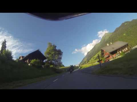 Aigle - chateau Les Mosses - Ormont Dessous, Switzerland (amazing road) Tiger1050 sport