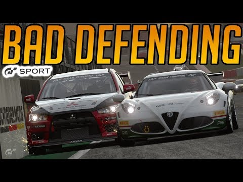 Gran Turismo Sport: How Not to Defend