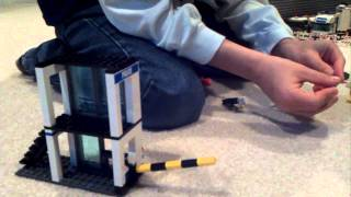 Lego 7743 - Gate Tower Build