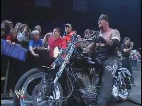 The Undertaker Biker Era Cruising The Motorcycle To