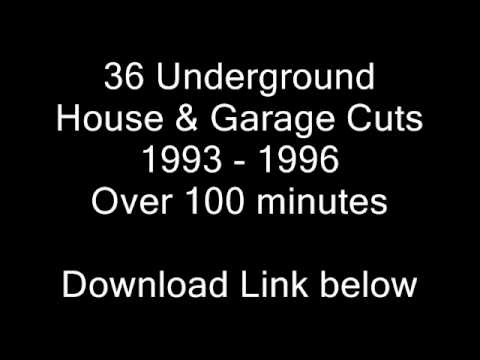 Old Skool House & Garage Mix Vol 6  -  36 Tracks