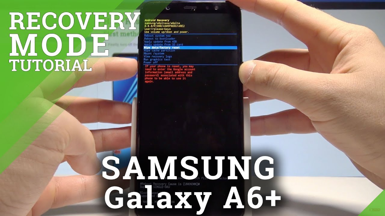 How to Enter Recovery Mode on SAMSUNG Galaxy A6+ - Boot into Recovery  |HardReset Info