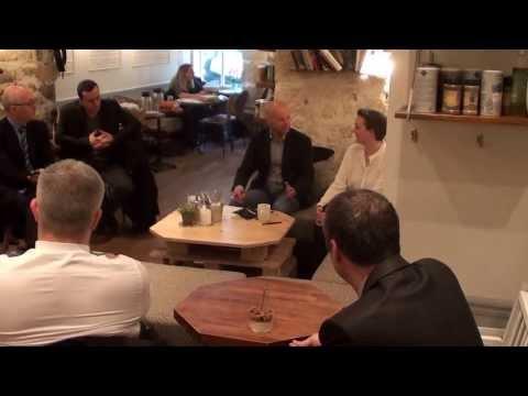 Video du lancement de Taxis, l'Avenir en 3D au Café Pinson - 6 mars 2014