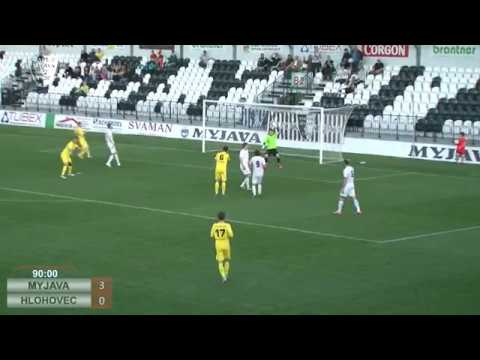58c348dad Futbal muži: Spartak Myjava - FC Slovan Hlohovec 3:0 - YouTube