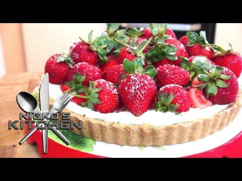 Strawberry & Cream Tart - Video Recipe