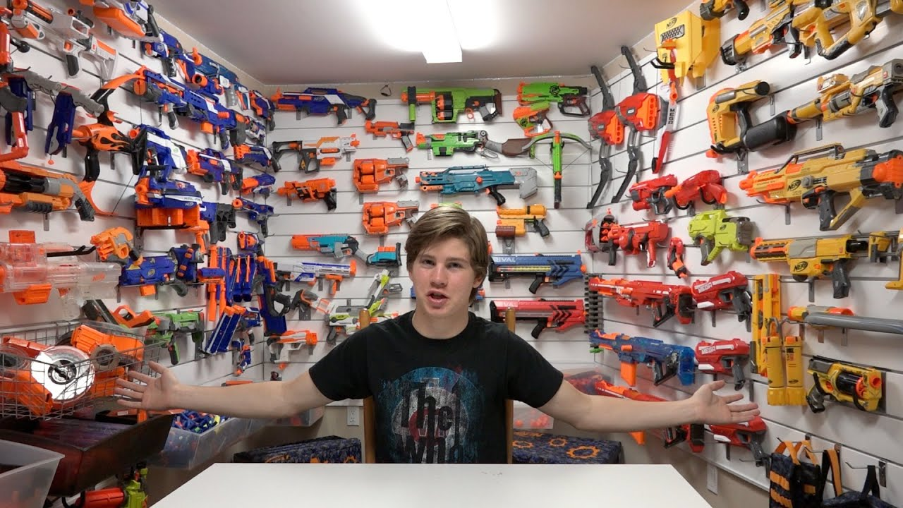 Cool Bedroom Ideas For Guys Top 5 Ways To Store Nerf Guns Youtube